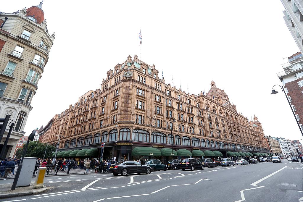 英国奢侈百货公司 Harrods 表示:中国人超过英国人成为最大收入来源