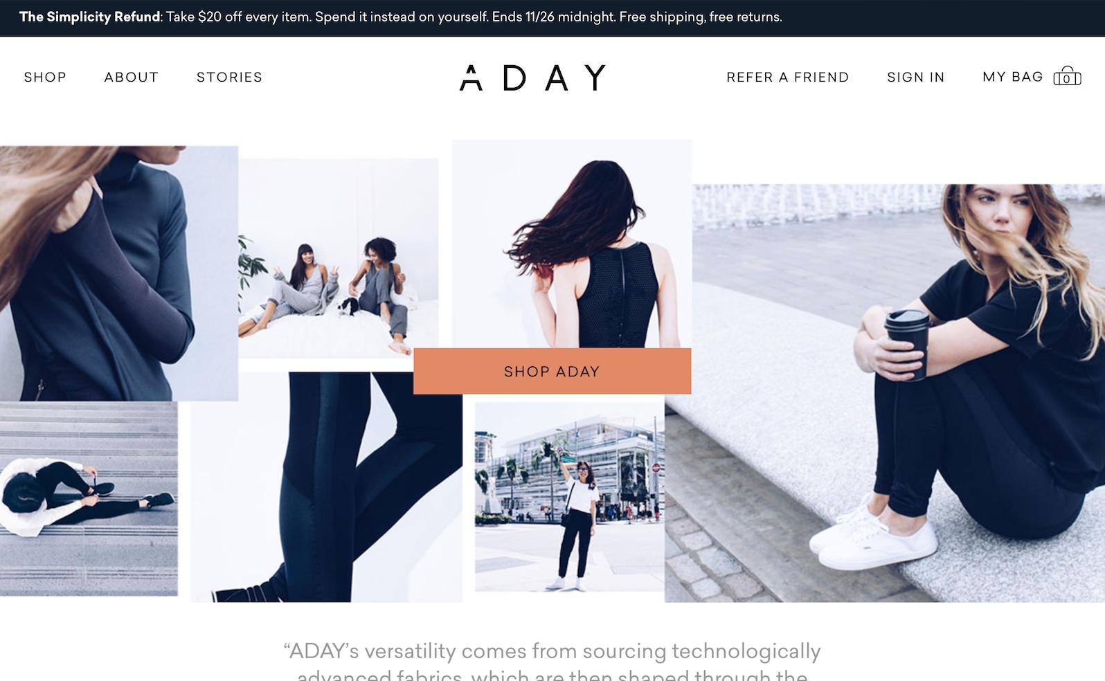 新锐互联网女装品牌 ADAY 完成200万美元融资,H&M 旗下风险投资部门领投