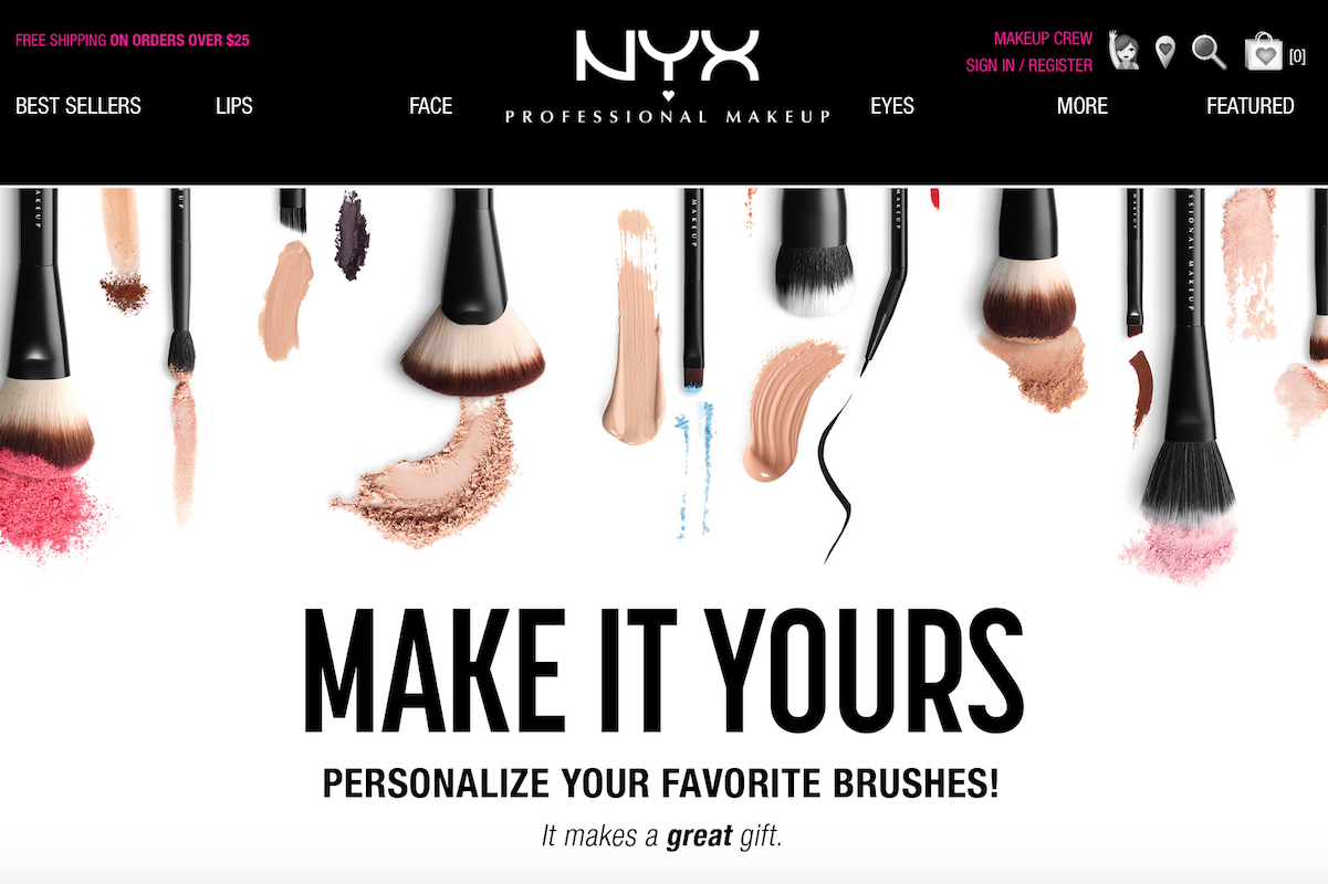 美国彩妆品牌NYX 联手三星电子,在门店推出 VR 交互体验式美容课程