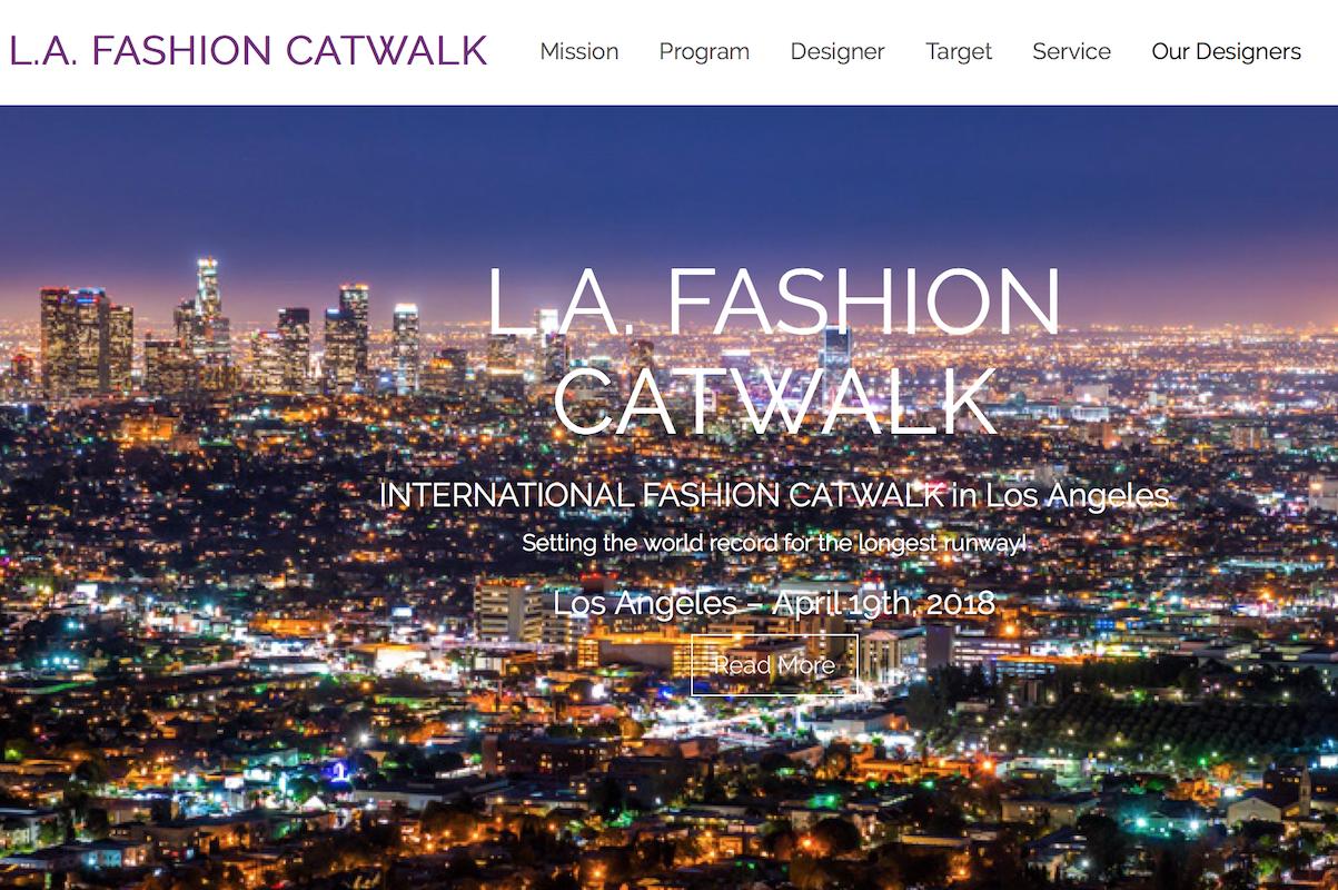 洛杉矶新兴时尚盛会 L.A. Fashion Catwalk 将举办超长距离时装秀,T台长达3.2公里