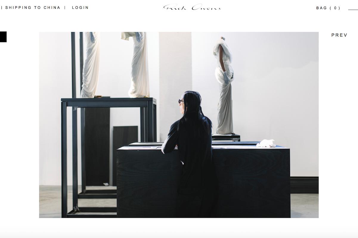 美国先锋时尚设计师 Rick Owens 在米兰举办20年作品回顾展