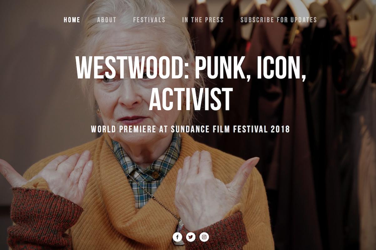 英国时装设计大师 VivienneWestwood 纪录片即将公映