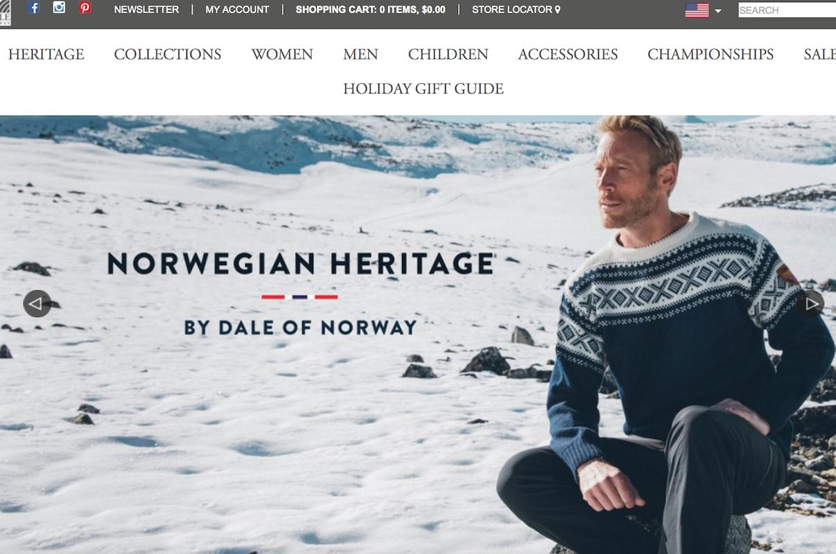 法国滑雪装备公司 Rossignol 为拓展针织品类,收购挪威老牌针织衫品牌 Dale of Norway