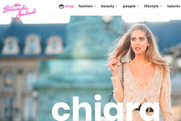 意大利当红时尚博主 Chiara Ferragni 出任与前男友共同创立的公司 TBS Crew 新任总裁兼 CEO