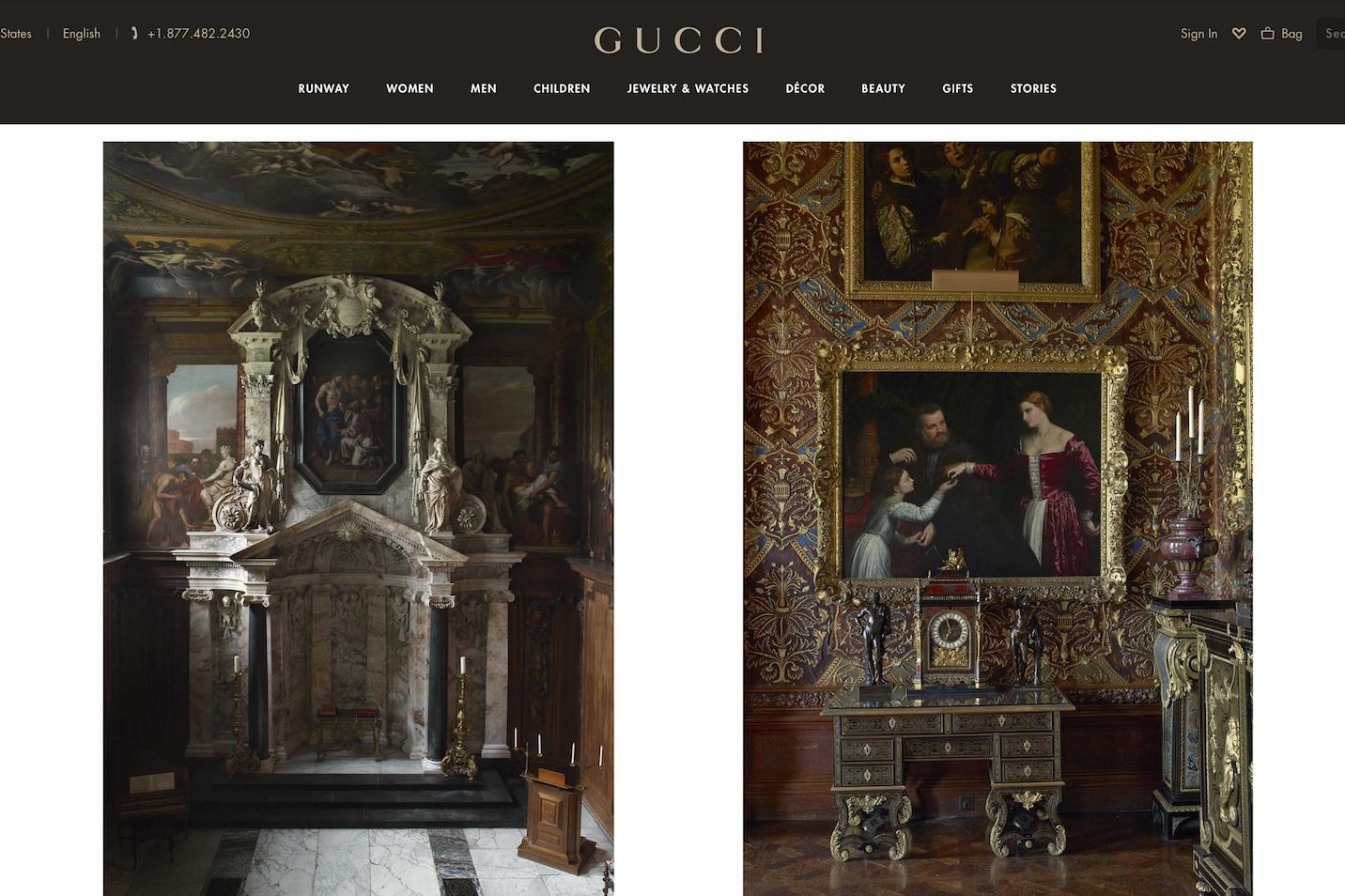这些奇妙的地方给了 Gucci 设计灵感!GucciPlaces 手机应用新增6个城市景点