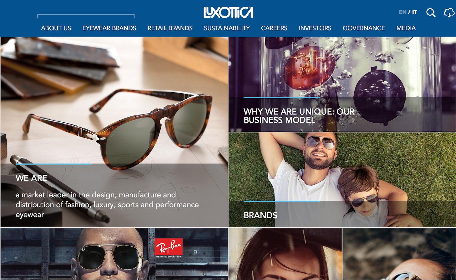 传:Luxottica 与 Essilor 合并交易或将无条件通过欧盟反垄断审查