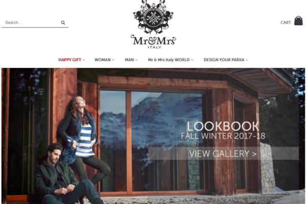 中国资本参股加快全球布局,高端派克大衣开创者意大利时尚品牌 Mr&Mrs Italy今年销售额有望突破5000万欧元