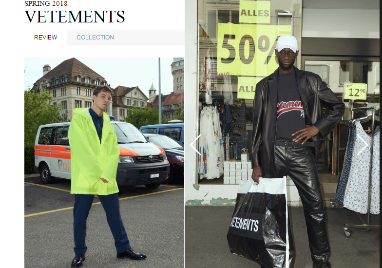 2018年1月巴黎男装周将迎接Vetements,gmbH, Off-White, Acne Studios 等7个新晋和回归品牌