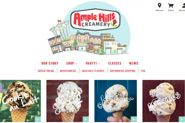 纽约布鲁克林纯手工制作冰淇淋品牌 Ample Hills Creamery 完成800万美元 A轮融资