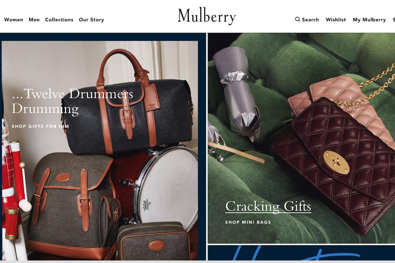 """Mulberry 发布上半年财报:电商与国际市场表现不俗,将继续推进""""全球奢侈品牌战略"""""""