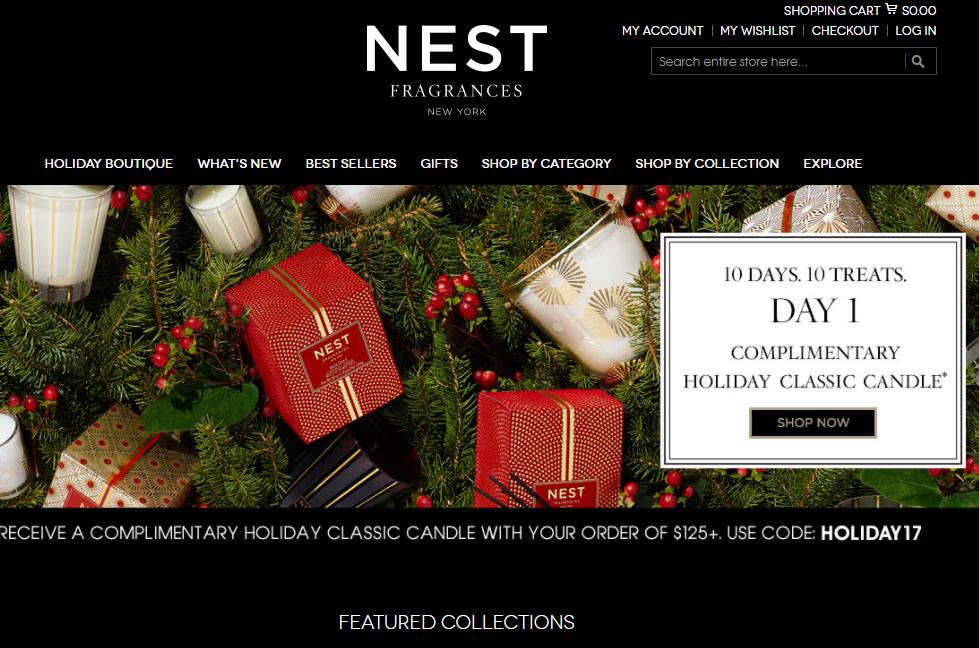 法国投资公司 Eurazeo 斥资7000万美元收购纽约香氛品牌NEST Fragrances 多数股权