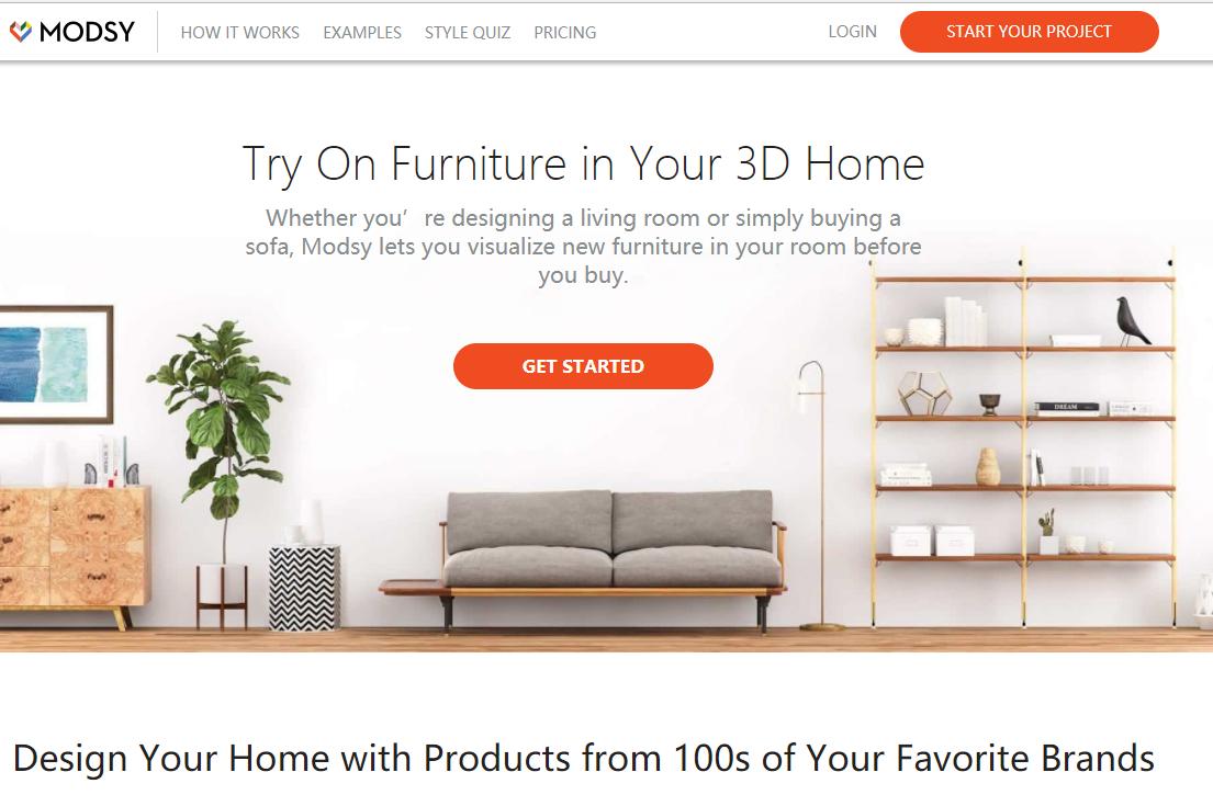 3D家居设计初创公司 Modsy完成2300万美元 B轮融资,康泰纳仕母公司领投