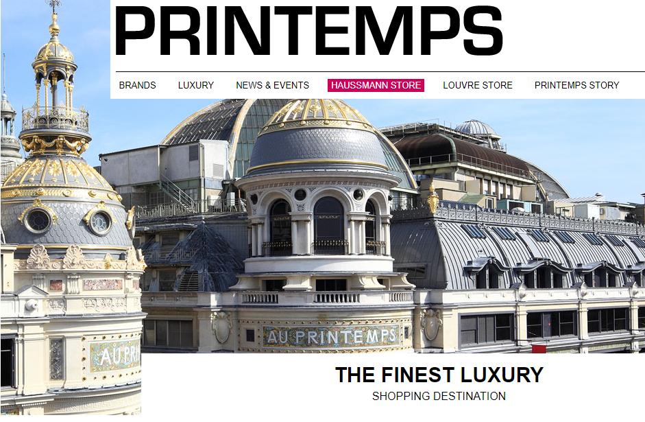 法国巴黎春天百货(Printemps)推出本土美食概念店 Printemps du Goût