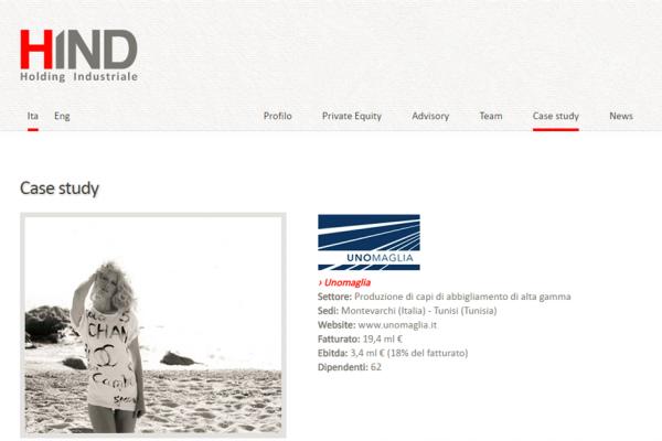 意大利投资公司 HIND 成立专注于时尚行业的投资子公司,以复刻旗下针织制造商 Uno Maglia 的成功经验