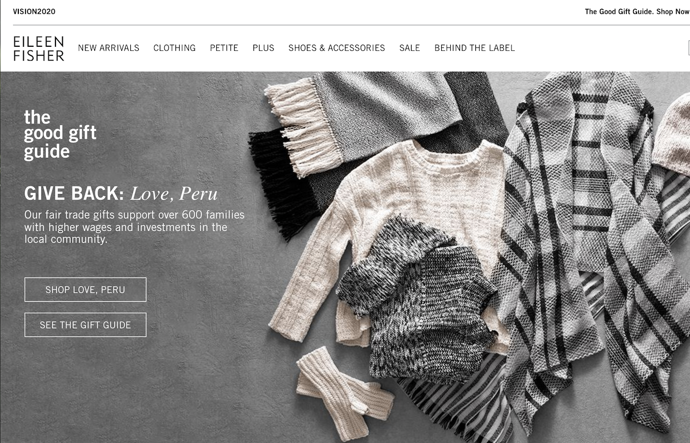 不办秀、不融资,年销售5亿美元的美国环保时尚品牌 Eileen Fisher是如何不走寻常路的