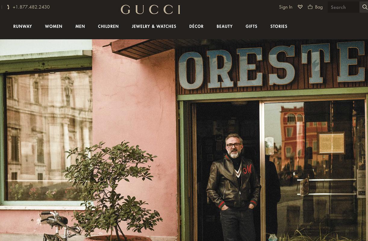 Gucci 拓展美食版图,在佛罗伦萨设立高级餐厅,由米其林三星主厨 Massimo Bottura掌勺