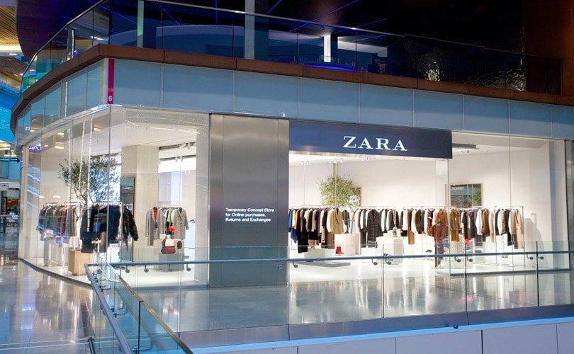 Zara全球首家网上订单线下提货快闪店亮相伦敦