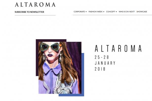 AltaRoma罗马高级定制时装周即将开幕,主办方将携手意大利对外贸易委员促进新兴设计师品牌推广