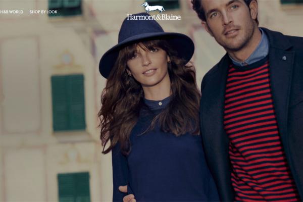 意大利高端休闲服装品牌 Harmont & Blaine 2017年销售额达到 8500万欧元