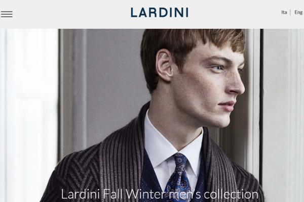 意大利男女定制服装品牌 Lardini 迎成立 40周年纪念,目标三年内销售额破 1亿欧元