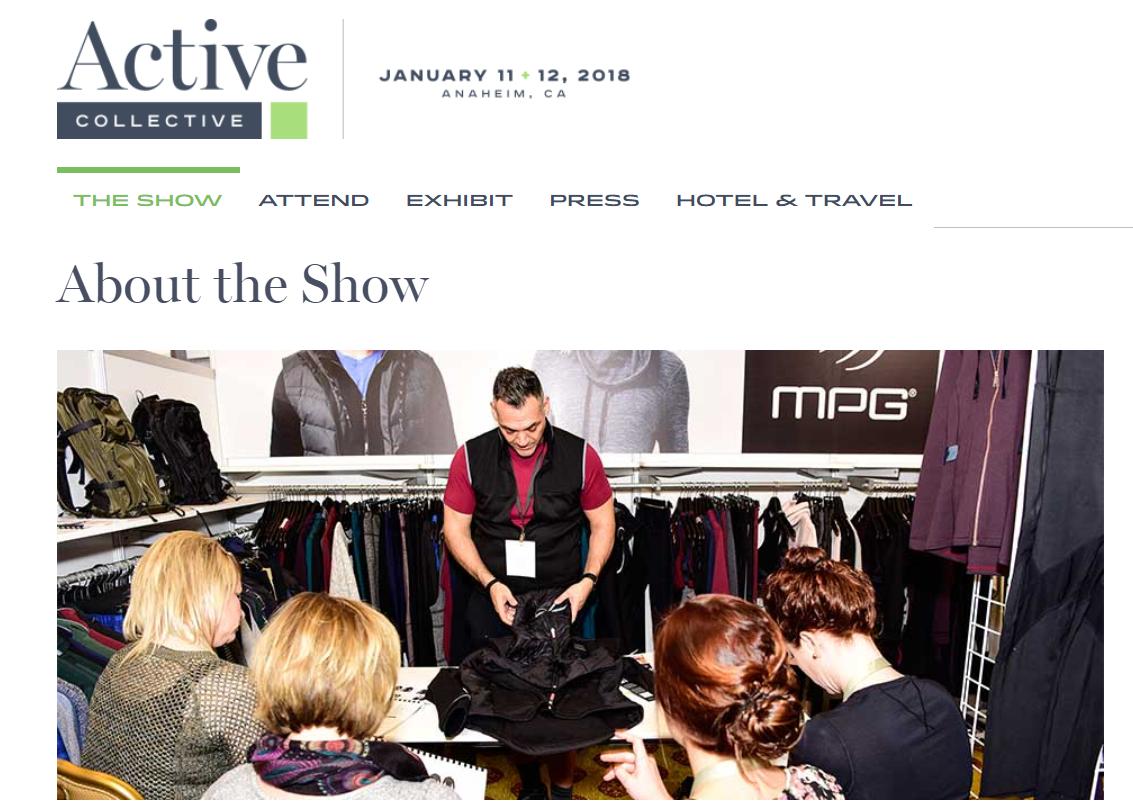 连制药公司也要做运动时尚!北美首个运动服饰贸易展Active Collective 揭示产业最新走向