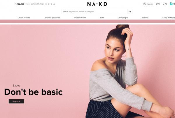 全年增速高达153%,瑞典时尚电商 NA-KD 完成B轮融资4500万美元