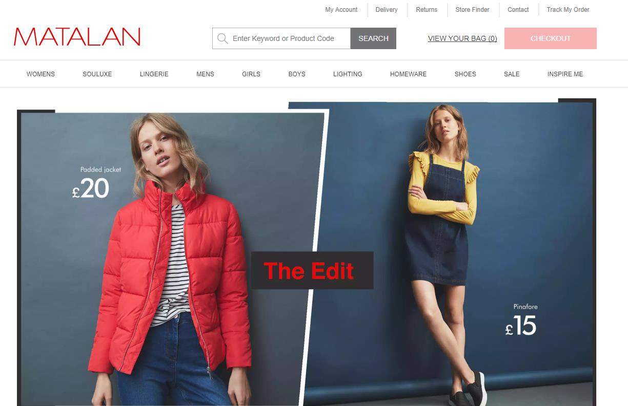 全价产品表现出色,英国时尚和家居用品零售商 Matalan 第三季度与圣诞假日季盈利状况大幅增长