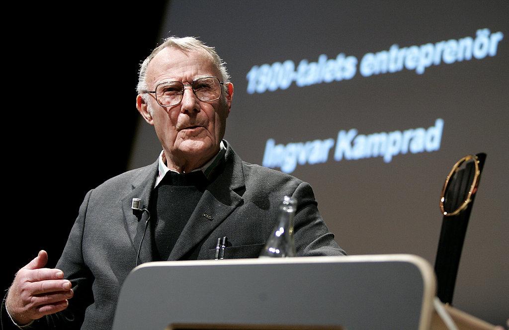 20世纪最伟大的企业家之一,宜家创始人 Ingvar Kamprad 逝世,享年91岁