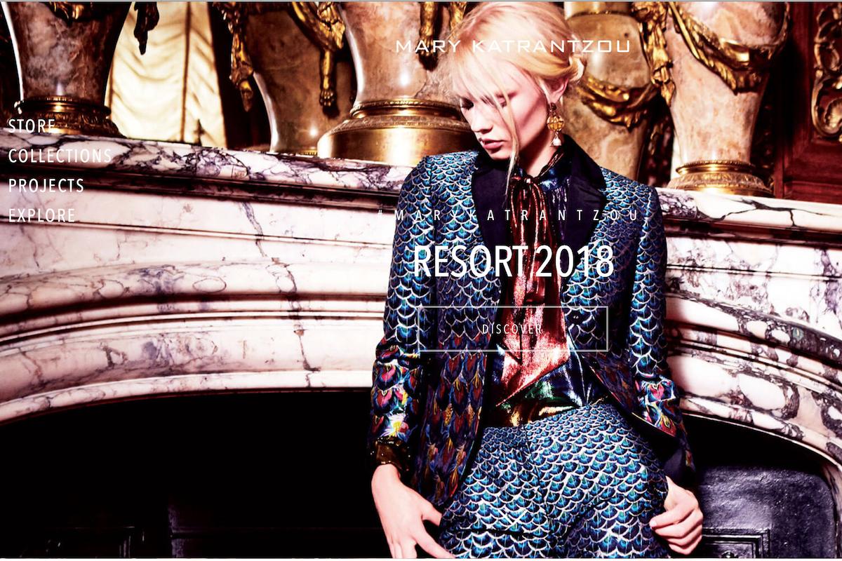中国年轻女投资人余晚晚收购英国女设计师品牌 Mary Katrantzou 部分股权