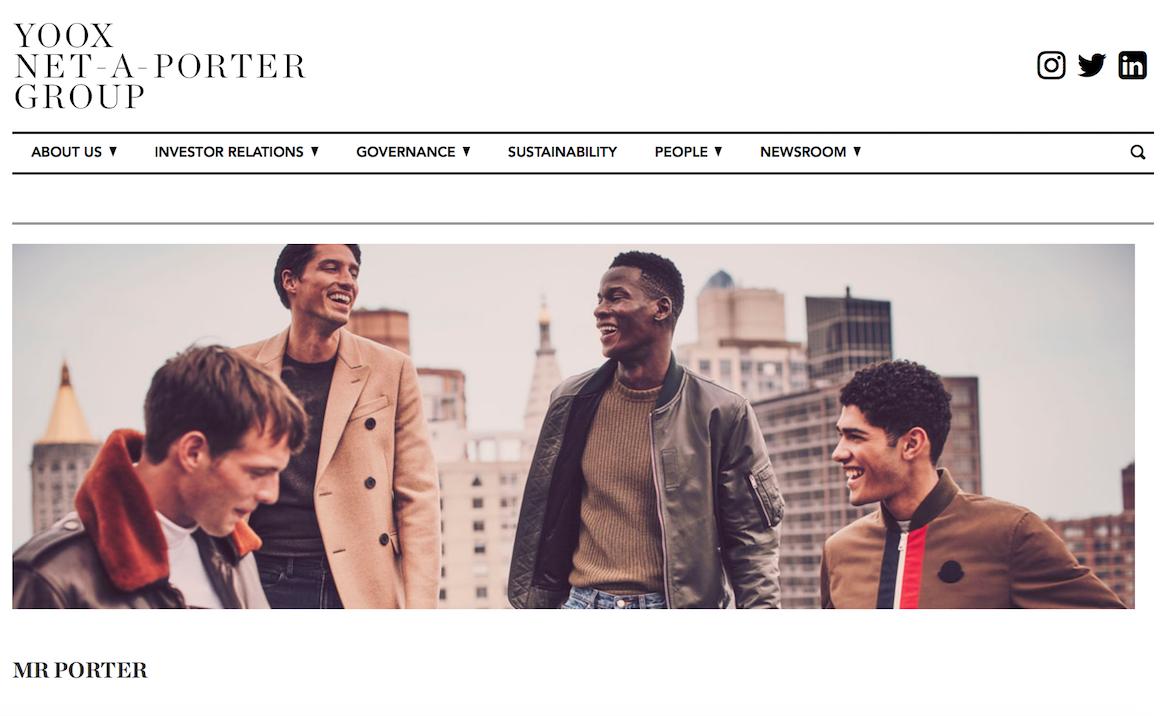 奢侈品电商Yoox Net-A-Porter2017财报:销售额同比增长14.6%,移动端占比首次超50%