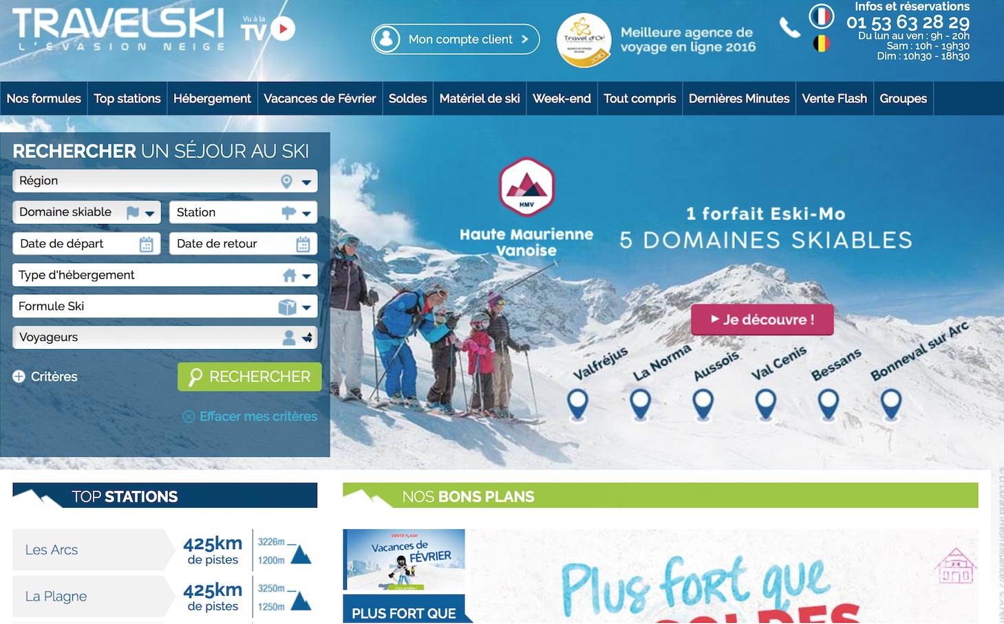 全球最大的滑雪度假村运营商Compagnie des Alpes收购旅游网站Travelfactory 73%股权,希望中国复星参与