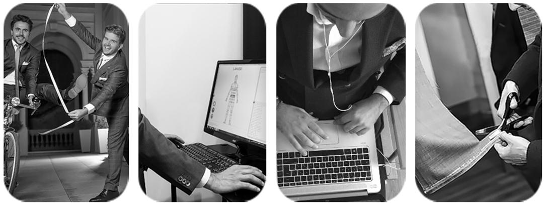 传统产业结合新模式 意大利首个男装定制电商平台Lanieri 2017年销售大涨65%
