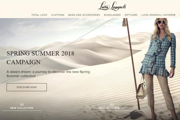 意大利轻奢女装品牌 Luisa Spagnoli 2017年销售额稳步增长,电商渠道增长70%