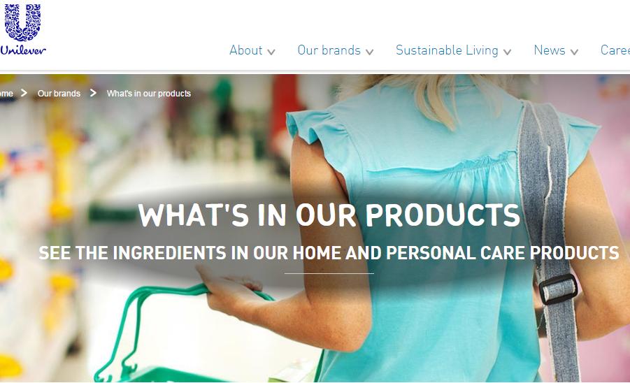 联合利华首次披露旗下个人护理产品所含香精的详细成分表,将在年内全面推行至欧洲市场