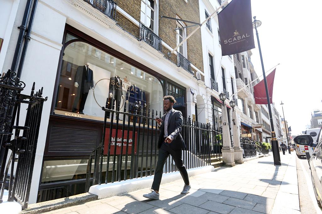 伦敦高级男装定制一条街 Savile Row 启动翻新工程