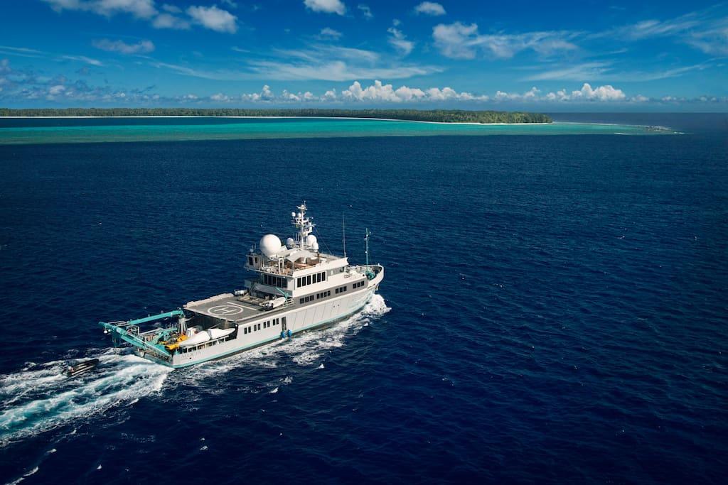 把海洋科考船当旅馆,饱览千米海底的美景!Airbnb联手BBC全球招募三位幸运旅客