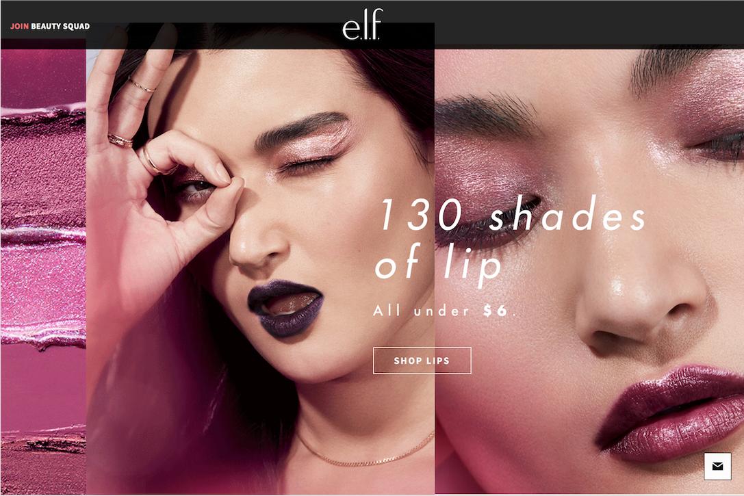 """美国""""快美妆""""品牌e.l.f. Cosmetics 公布2017财年财报:销售额同比增长18%"""