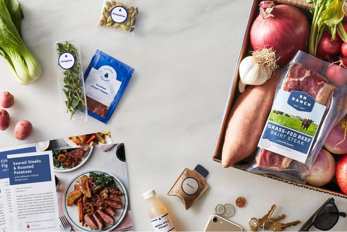 全美最大的食材配送公司 Blue Apron 终于盈利在望