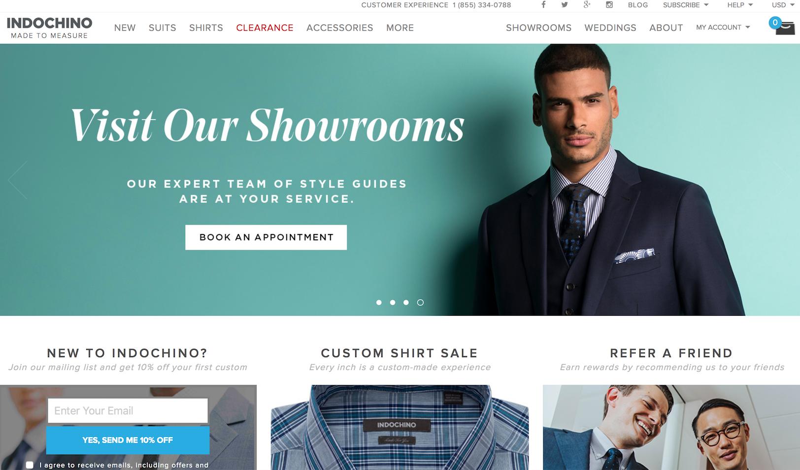 互联网定制男装品牌 Indochino 获日本三井集团战略投资