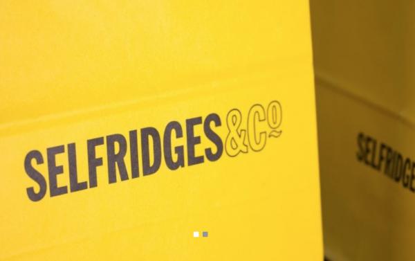 英国老牌高端百货 Selfridges 将回收废弃咖啡杯,加工成标志性黄色购物袋
