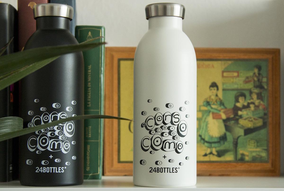 意大利环保水瓶初创公司 24Bottles 与时尚概念店 10 Corso Como 推出联名水瓶