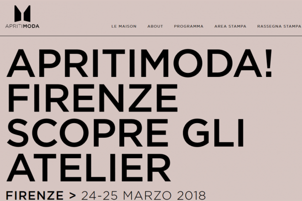 从米兰到佛罗伦萨,意大利 Apritimoda 系列活动新增 13家时尚及奢侈品企业向公众开放参观