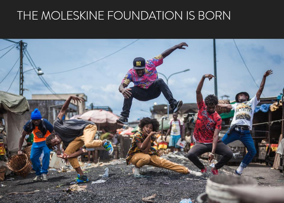 意大利文具品牌 Moleskine 创立同名公益基金会,重点关注青少年教育