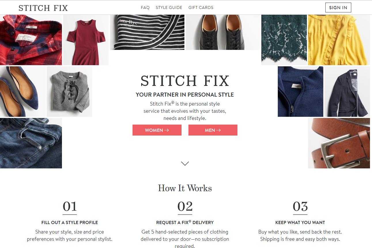 美国按月订购时尚电商Stitch Fix CEO谈上市后发展策略