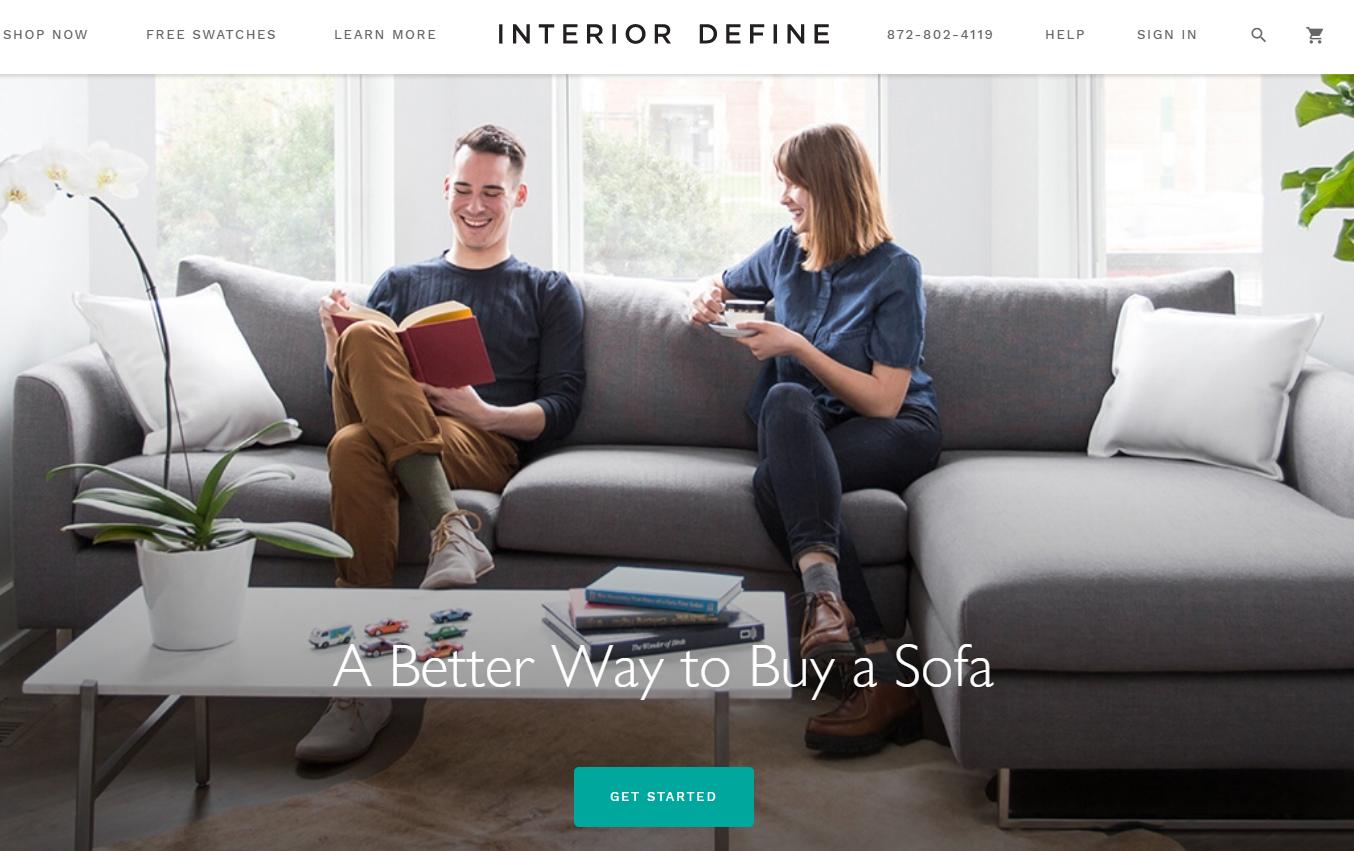 美国互联网定制家具零售商Interior Define 完成1500万美元B轮融资