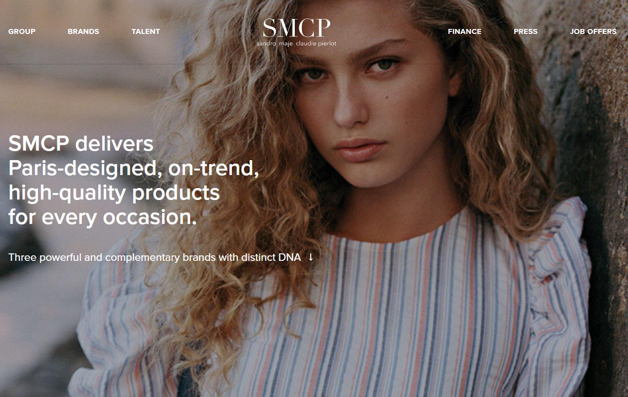Sandro和Maje的母公司、山东如意控股的法国时尚集团SMCP公布上市后首份完整财报:核心利润同比增长18.6%