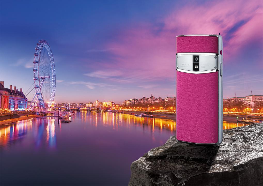英国奢侈手机VERTU(纬图)强势回归,三年首推新品!