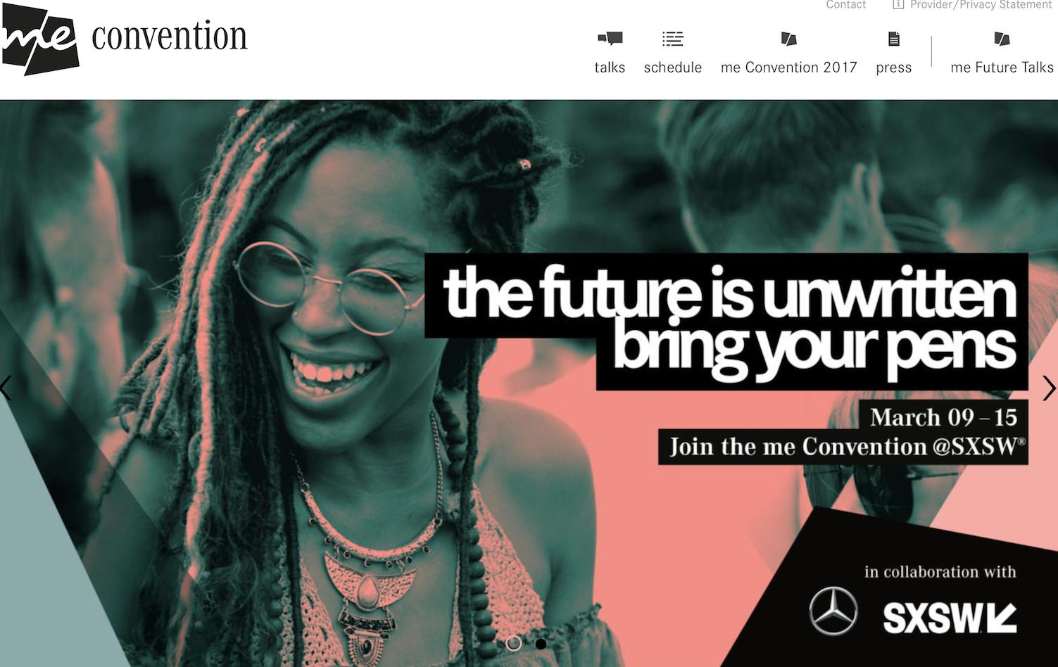SXSW 联手奔驰推出第二届 me Convention,探索人工智能未来生活