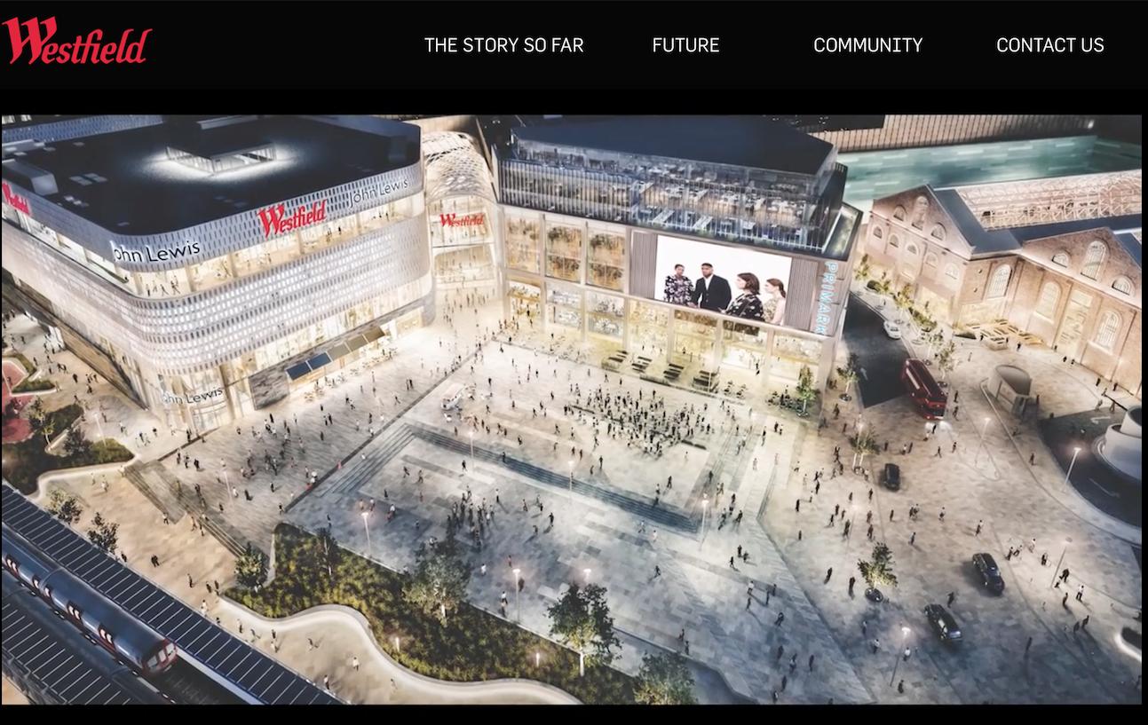 投资6亿英镑扩建,英国 Westfield London 跃居欧洲最大购物中心