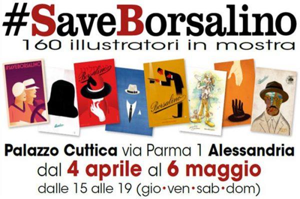 意大利传奇制帽商 Borsalino 拯救战再出新招,小镇 Alessandria 举办品牌插画特展